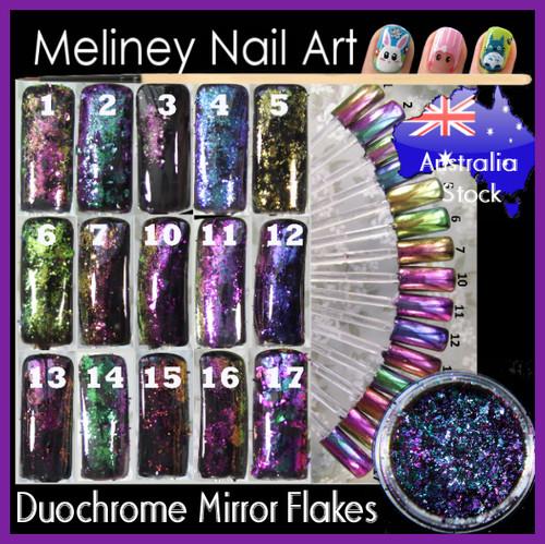 Duochrome Mirror Nail Flakes