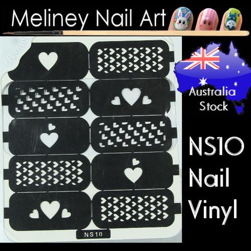 NS10 nail vinyl