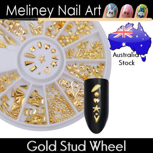 Gold Studs Wheel