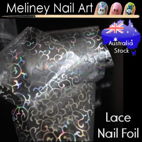 Lace Nail Art Transfer Foil