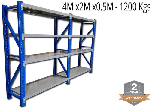 ASSEMBLY Instructions for Long Span Racking  Racking