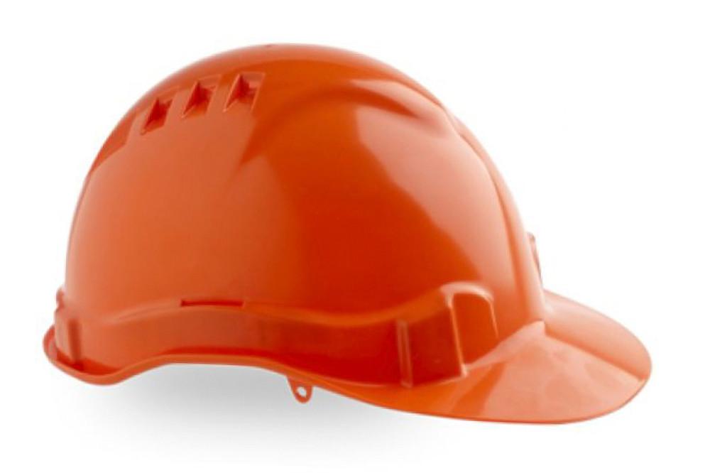 Hard Hat (V6) VENTED 6 Point PROLOCK Harness ORANGE