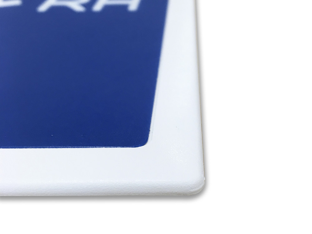 MALE TOILET 200x200 Braille Sign Blue/White