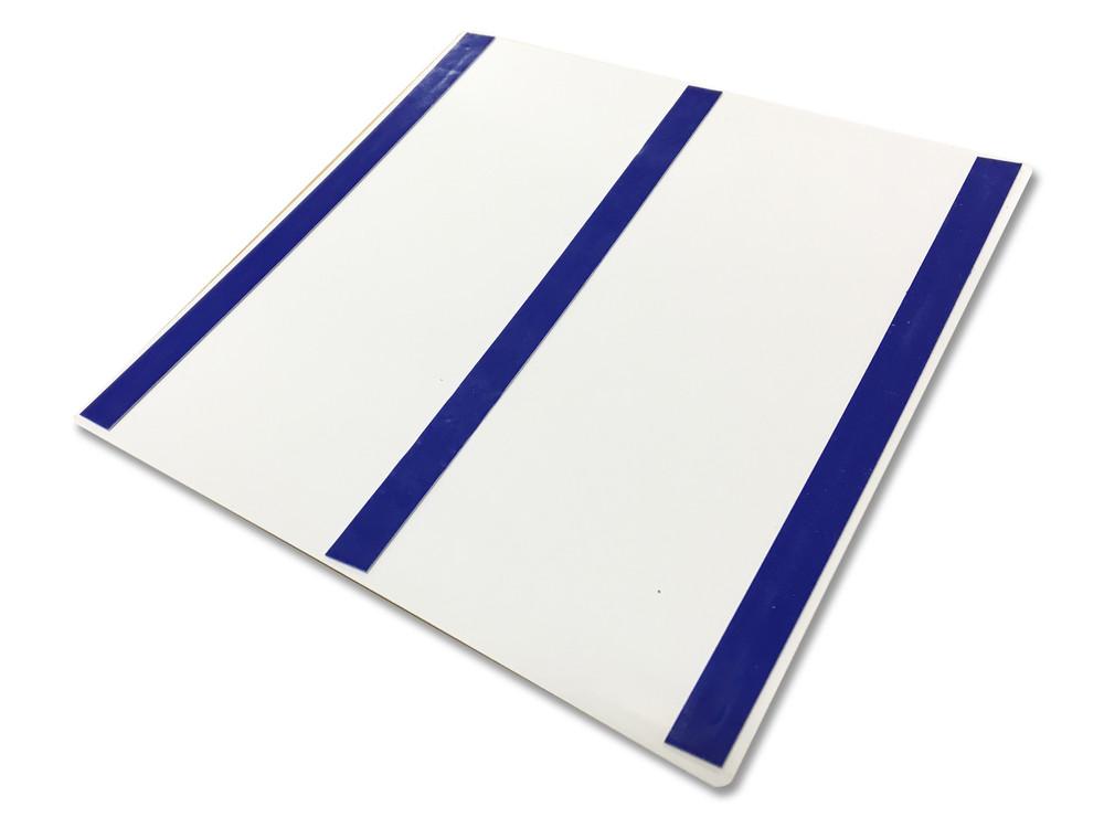 UNISEX ACCESSIBLE LH 200x200 Braille Sign Blue/White
