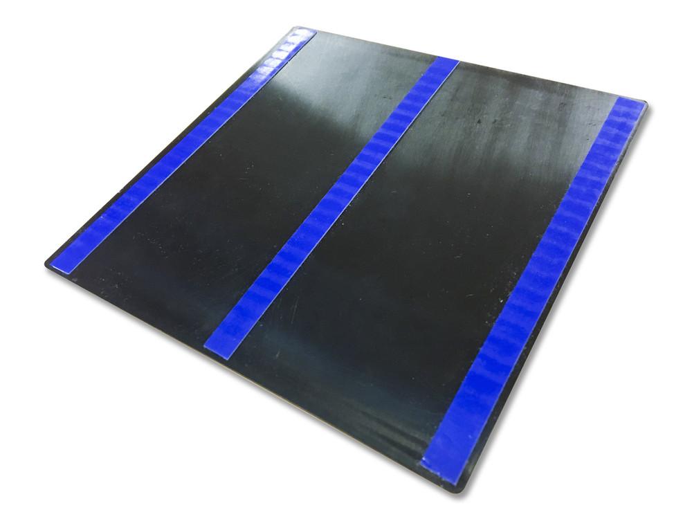 UNISEX TOILET 200x200 Braille Sign Silver/Black