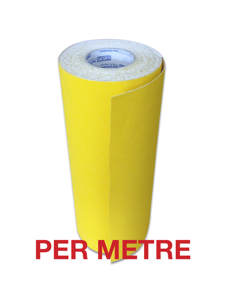 400mm Anti-Slip Tape YELLOW - PER METRE