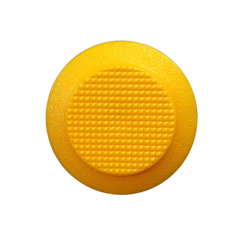 Urethane Tactile Stud YELLOW - SPIGOT 8mmx20mm
