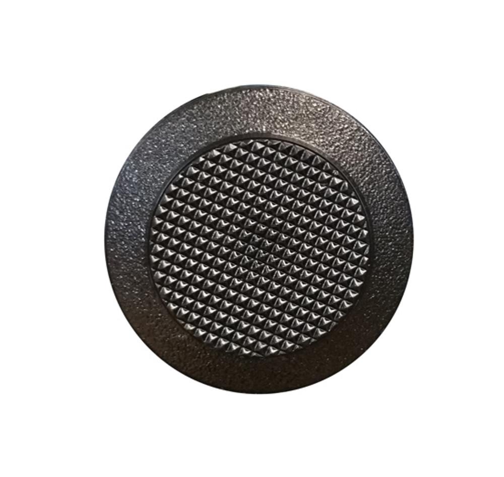 Urethane Tactile Stud BLACK - SPIGOT 8mmx20mm