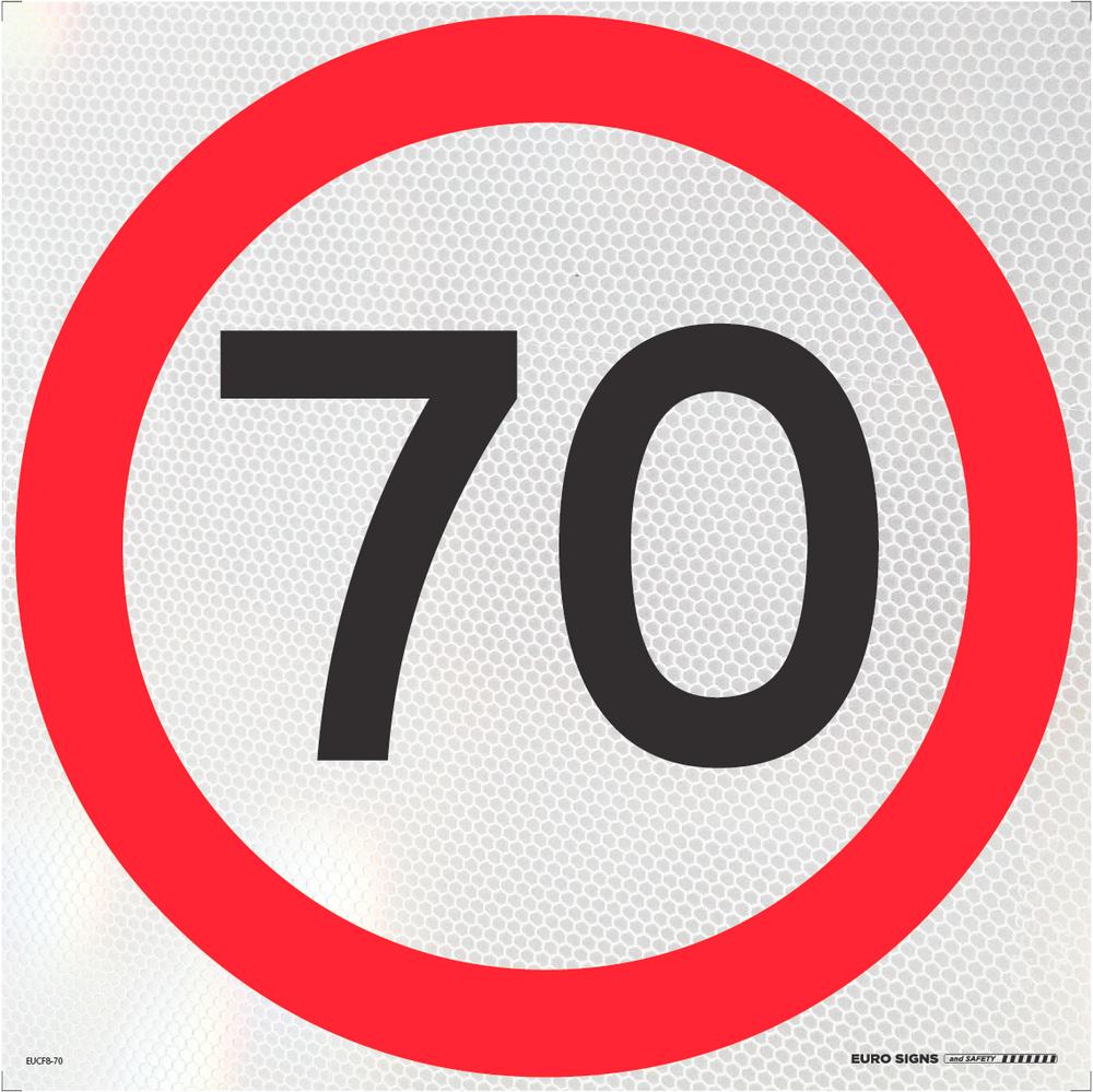 70- 600x600 Corflute HI-INT BLK/RED/WHT