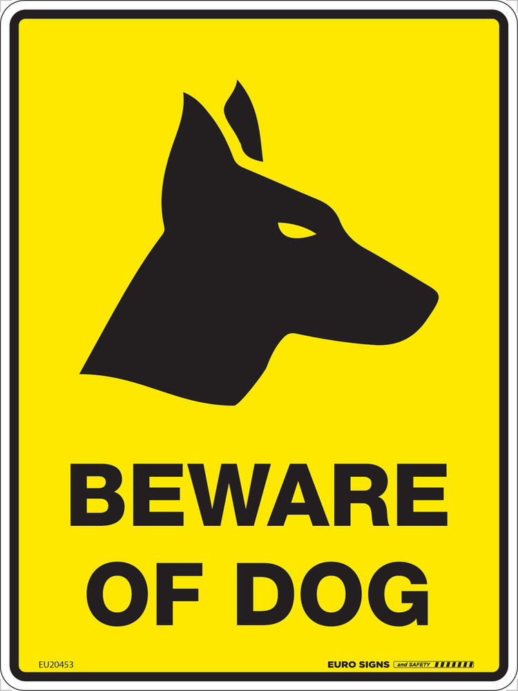 BEWARE OF DOG 225x300 MTL