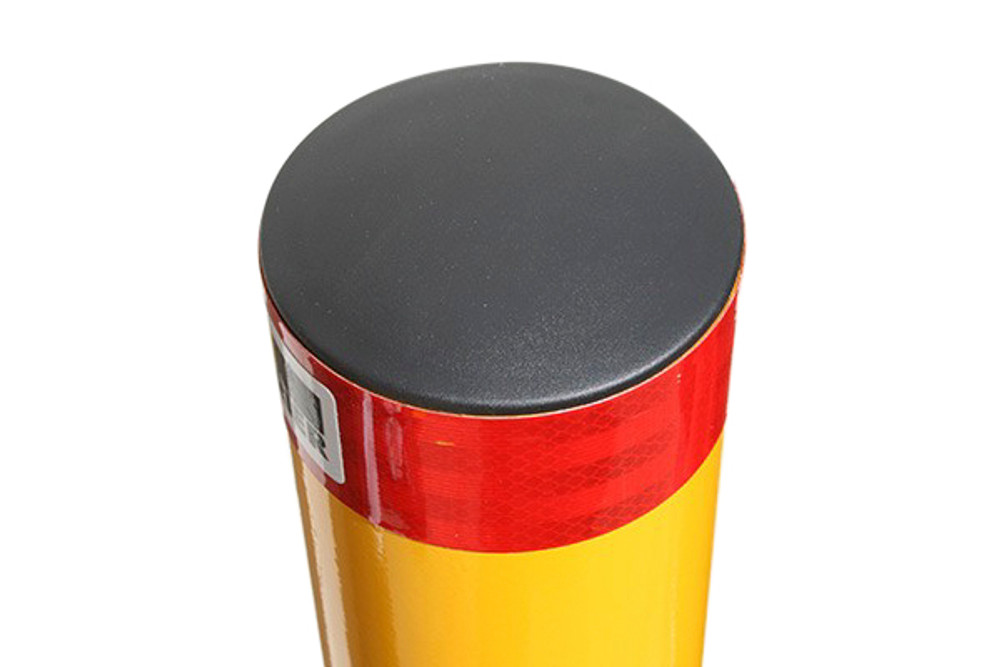 ECONOMY 140mm dia. SURFACE mount bollard - Galv & P/Coat