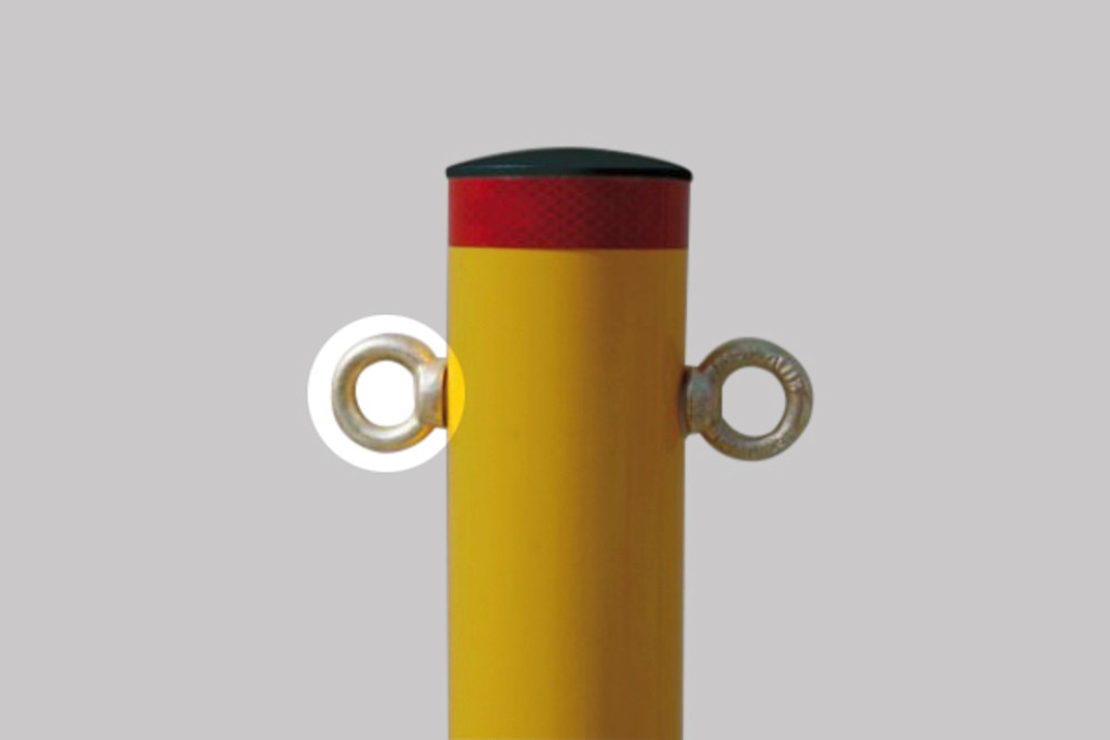 Chain ring (zinced eye bolt) suitable for any bollard - EACH