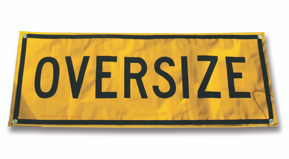 OVERSIZE 1200x450 Class 2 BANNER c/w Ropes