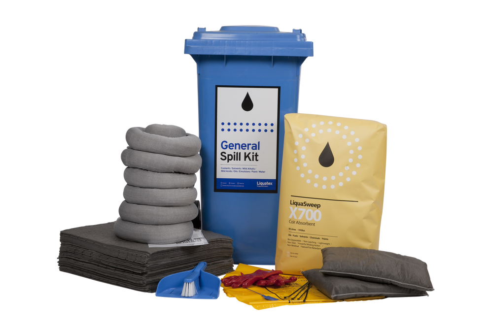 Spill Kit 120 LTR BIN General Purpose STD