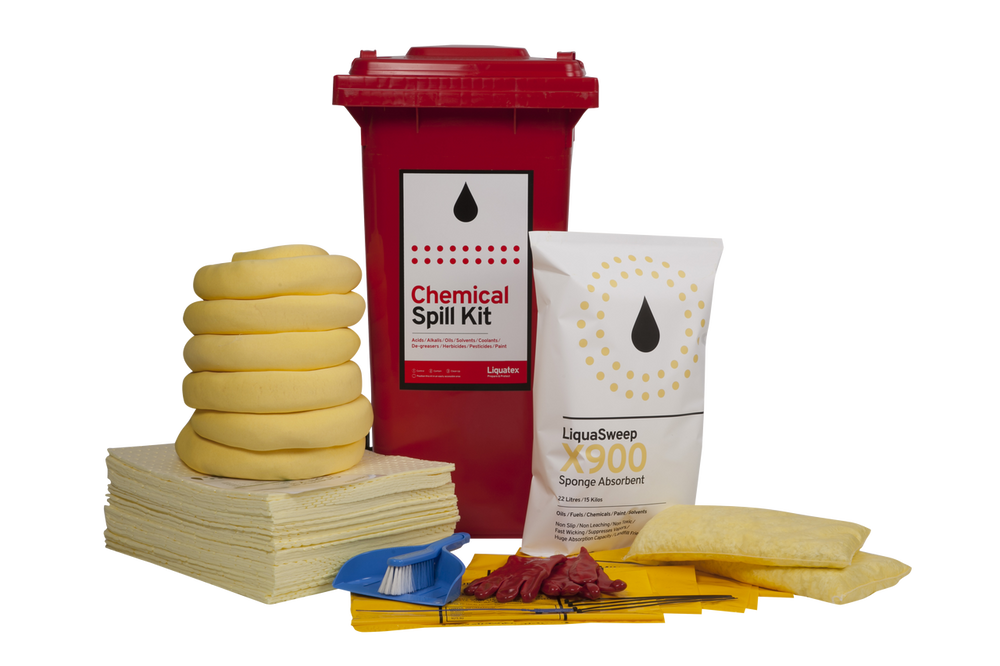 Spill Kit 120 LTR BIN Chemical STD