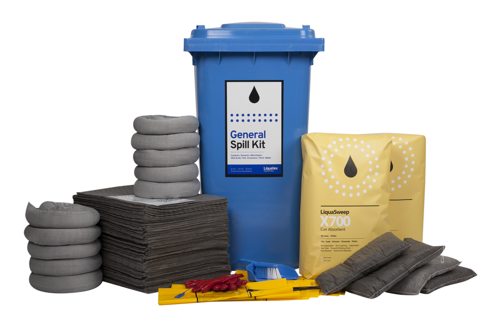 Spill kit - 240 LTR BIN - General Purpose - STD