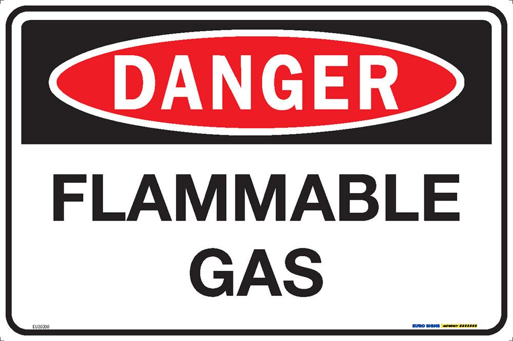 DANGER FLAMMABLE GAS 450x300 MTL
