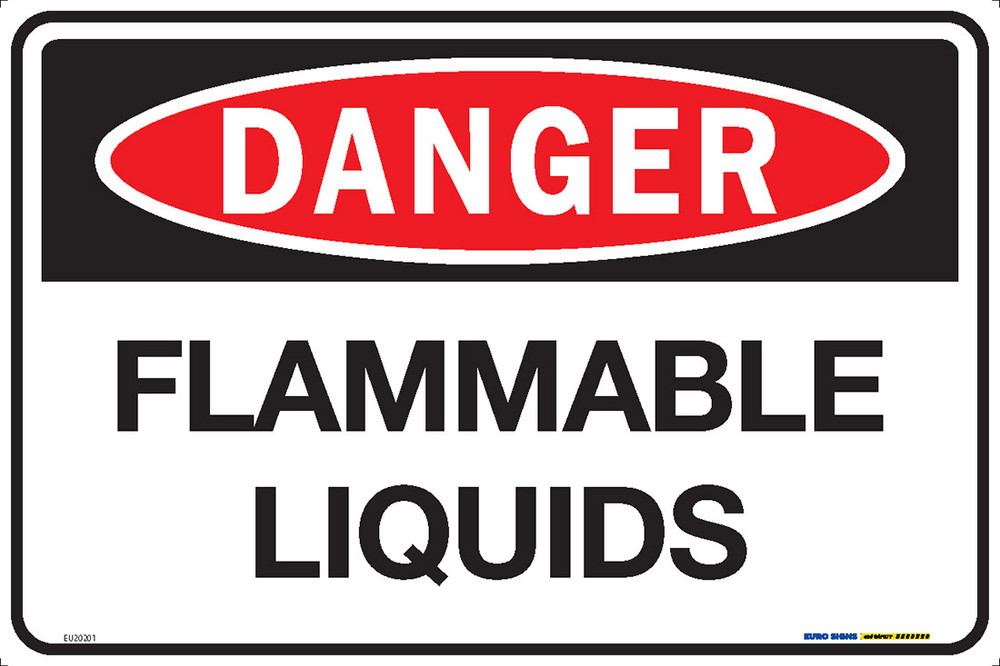 DANGER FLAMMABLE LIQUIDS 450x300 MTL