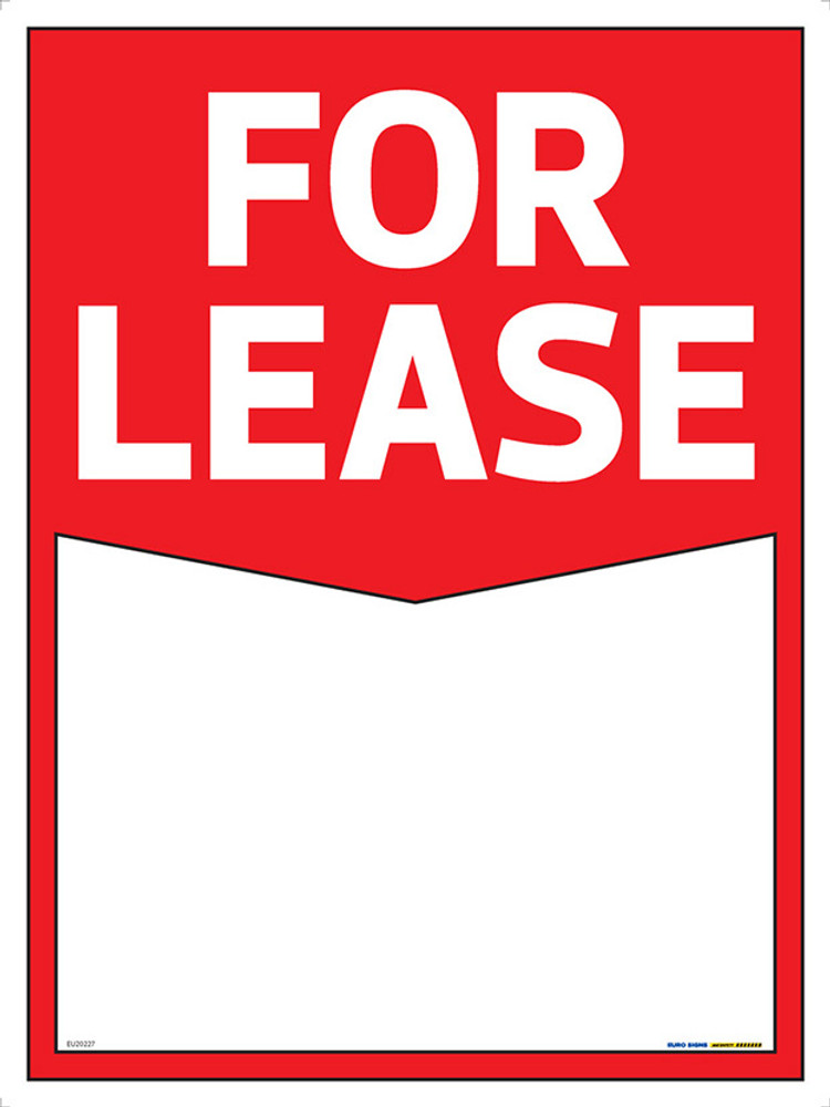 FOR LEASE - 900x1200 CORFLUTE