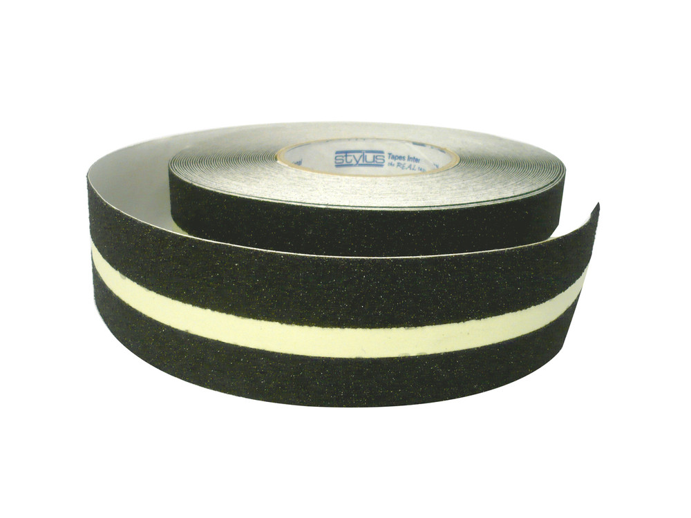 50mm Anti-Slip Tape 18 metres BLACK/LUMINOUS