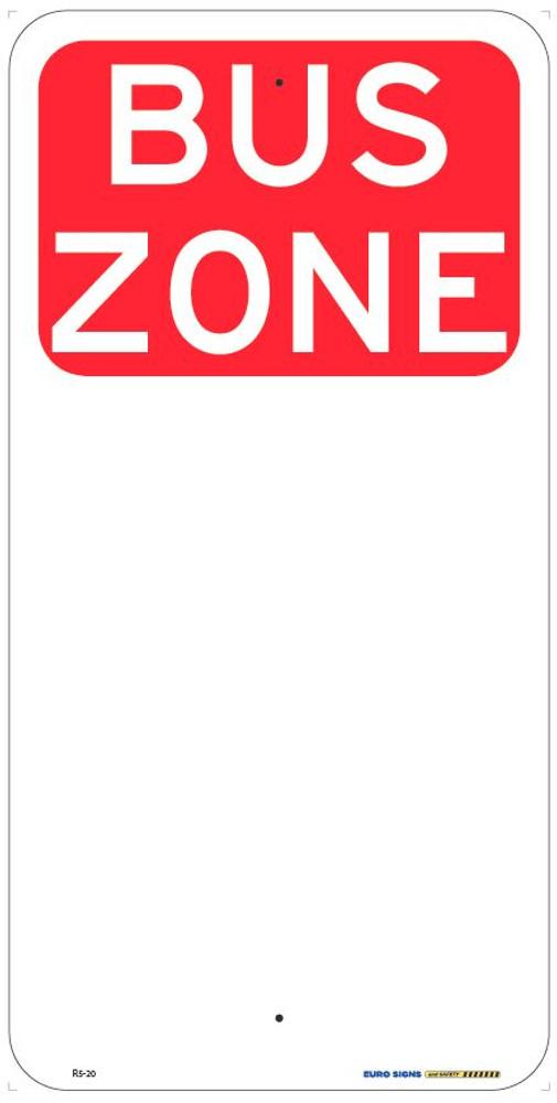 BUS ZONE - 225x450 ALUM