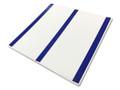 FEMALE TOILET 200x200 Braille Sign Blue/White