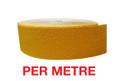 60mm Carbide Nosing Tape YELLOW - PER METRE