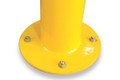 Round 90mm diameter SURFACE mount bollard - Galv & P/Coat