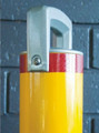 Sleeve-lok 90mm dia. removable bollard Galv & P/Coat finish (no padlock)