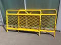 Telecom Barrier 4 sided 1400x1380 MESH Frame (no roof)
