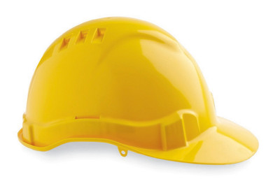 Hard Hat (V6) VENTED 6 Point PROLOCK Harness YELLOW