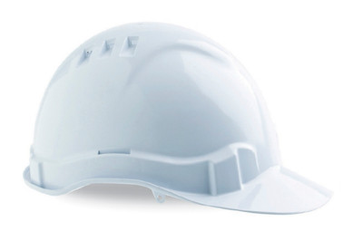 Hard Hat (V6) VENTED 6 Point PROLOCK Harness WHITE