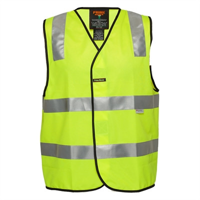 LARGE yellow Day Night Safety Vest