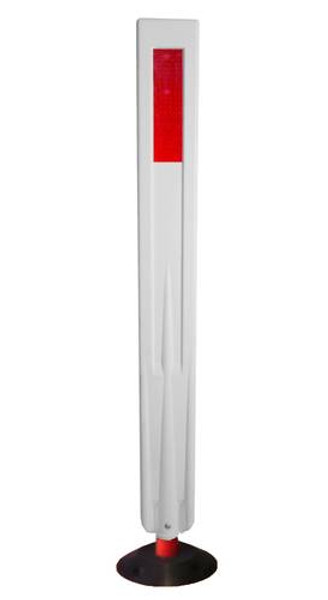 Flexi360 SURFACE MOUNT 1 PART FLEX. GUIDE POST 1070x110x30 c/w Round (190x25) Base