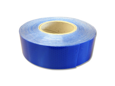 50mm Class 1 Reflective Tape BLUE 50 metre ROLL