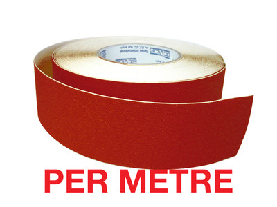 50mm Anti-Slip Tape RED - PER METRE