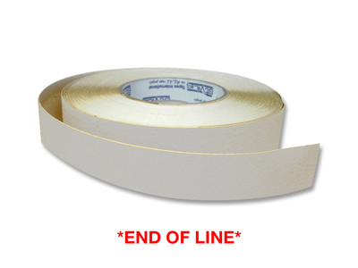25mm Anti-Slip Tape 18 metres CLEAR (opaque) *END OF LINE*