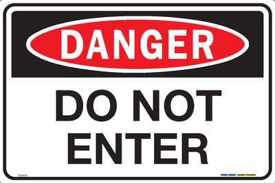 DANGER DO NOT ENTER 450x300 MTL