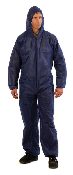 Disposable PP (polypropylene) Coverall BLUE XL