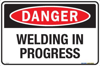 DANGER WELDING IN PROGRESS 450x300 MTL