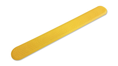 Tactile YLW DIRECTIONAL 298x35 Strip Urethane