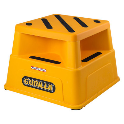 Gorilla Safety Step - Yellow - 150kg Industrial