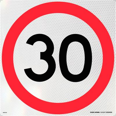 30- 600x600 Corflute HI-INT BLK/RED/WHT