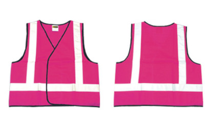 Vest PINK Night Only SMALL