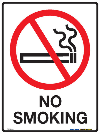 NO SMOKING 225x300 MTL