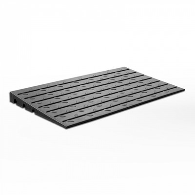 Access Ramp 1070x609x63 - BLACK Rubber