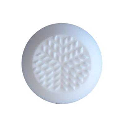 Urethane Tactile Stud WHITE - SPIGOT 8mmx25mm