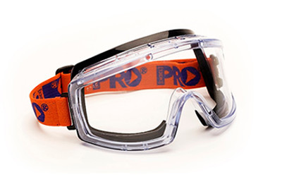 3700 Series Foam Bound - Clear Lens GOGGLES