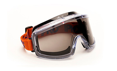 3702 Series Foam Bound - Smoke Lens GOGGLES