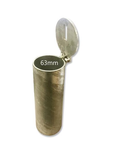Sleeve-lok 63mm diameter in-ground SLEEVE - CORE DRILLED